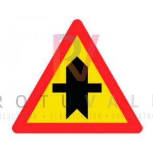 Señal-TP-1-Peligro-intersección-prioridad-obra