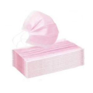 Mascarilla higiénica rosa para adulto