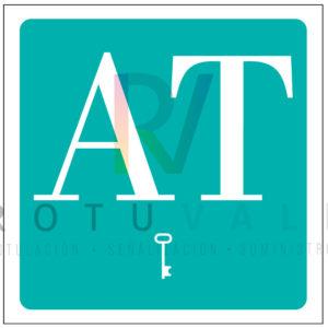 Placa distintivo de apartamento turístico para la Comunidad de Aragón