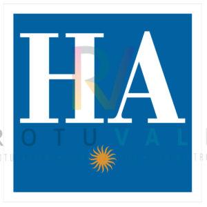 Placa distintivo homologado para hotel apartamento en Aragón