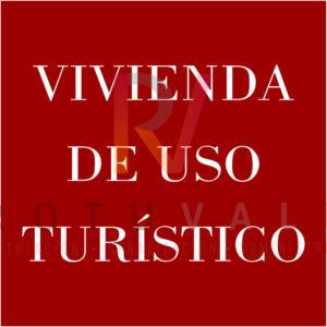 Placa vivienda de uso turístico en La Rioja