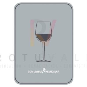 Placa de Bar de la Comunidad Valenciana