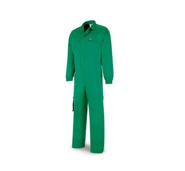 Buzo top de trabajo 100% algodón verde