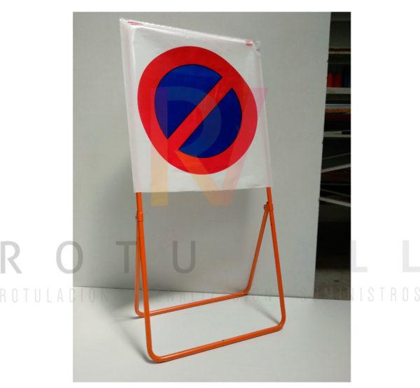 Señal R-308 tipo bolsa de plástico