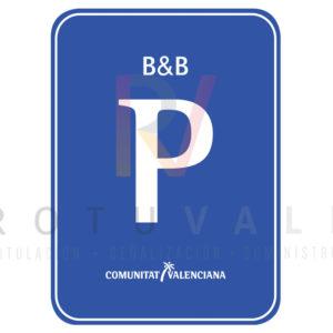 Placa distintivo para Pensión Bed & Breakfast en la Comunidad Valenciana
