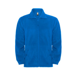chaqueta polar azul Roly