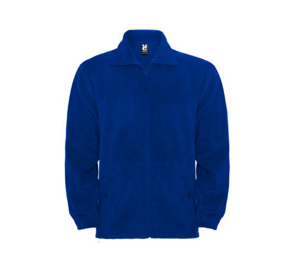 chaqueta polar azul marino Roly