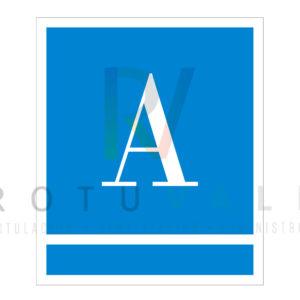 Placa para los albergues de Andalucía