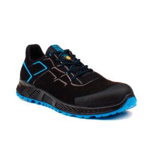 Zapato de Seguridad Galaxy S3 SRC ESD negro y azul